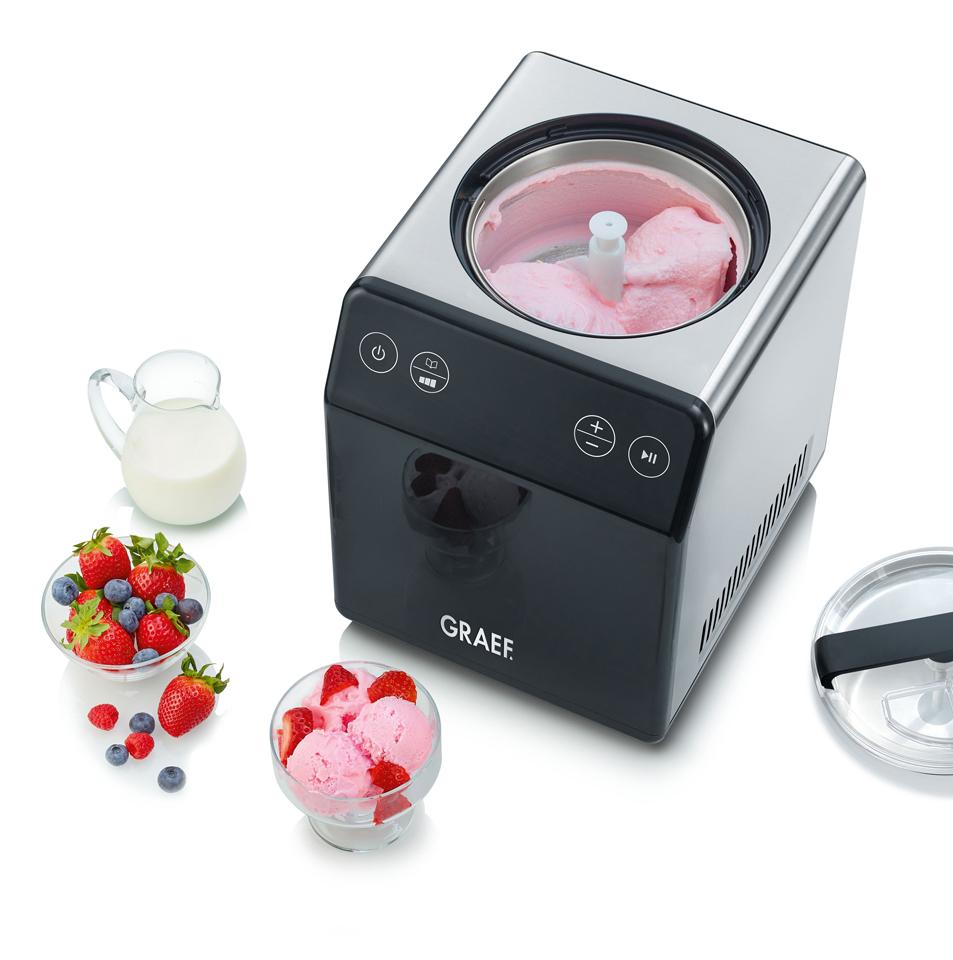 Graef Eismaschine IM 700 für Eis und Joghurt.