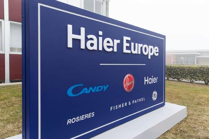 Haier Europe erzielte 2020 einen Umsatz von über 2,1 Mrd. EUR, eine Steigerung von 8,7% zum Vorjahr.