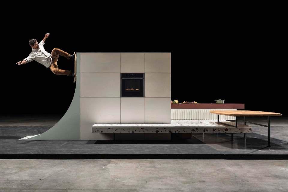 Mit der Skate Kitchen denkt Neff die Küche mal anders.