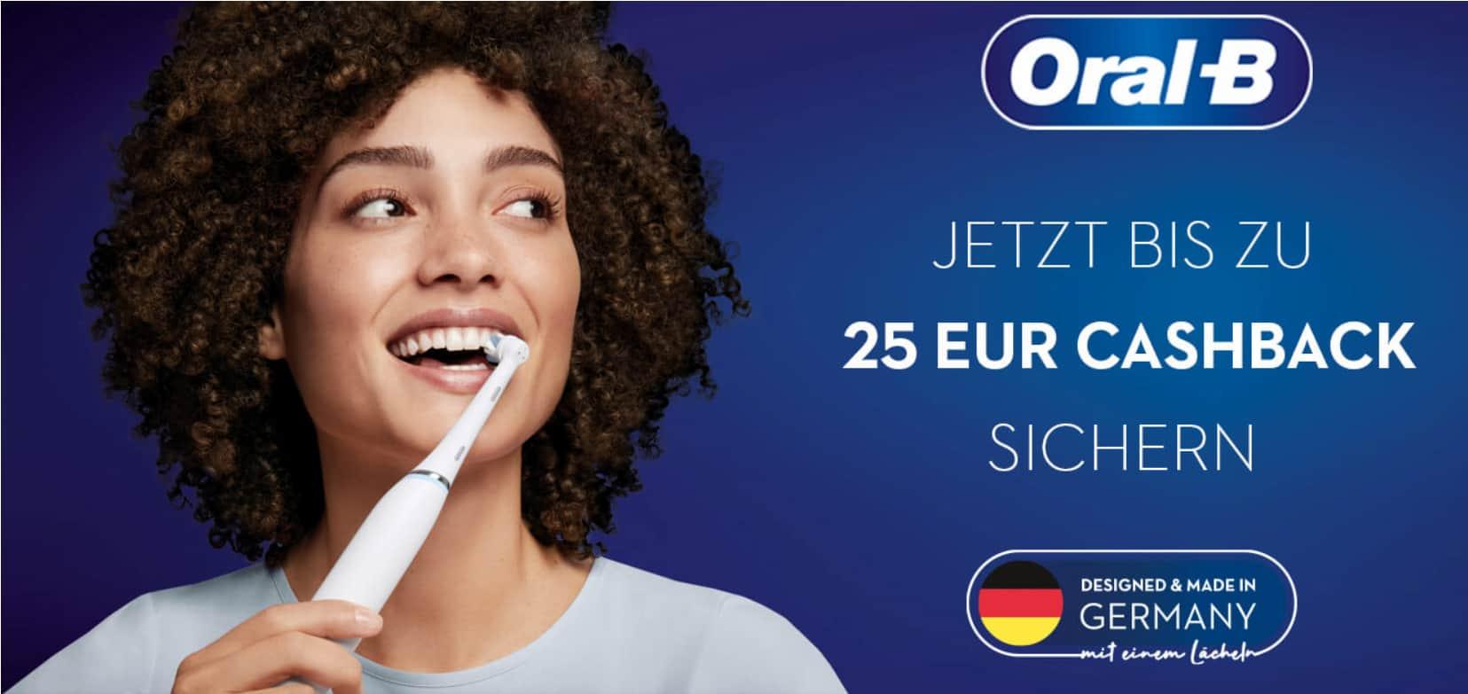 Sauber putzen und Geld sparen mit Rabatt von Oral-B.