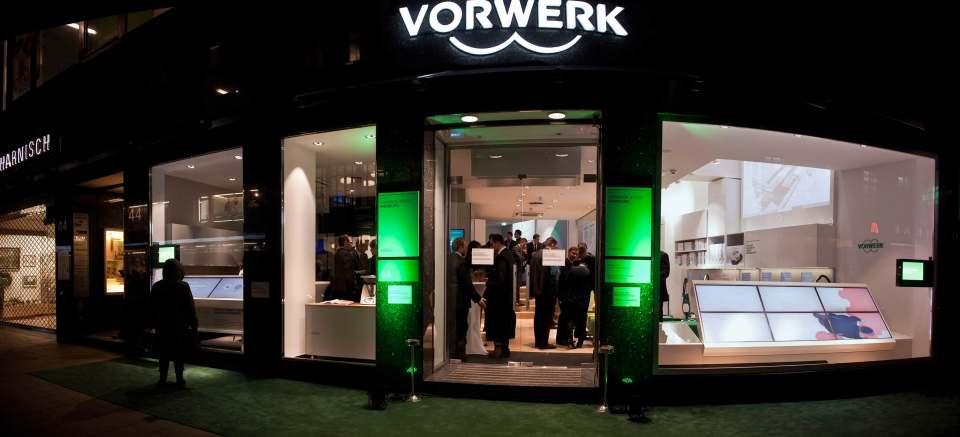 Direct to Consumer ist für Vorwerk – hier der Flagship-Store in Hamburg – ein alter Hut. Foto: Vorwerk