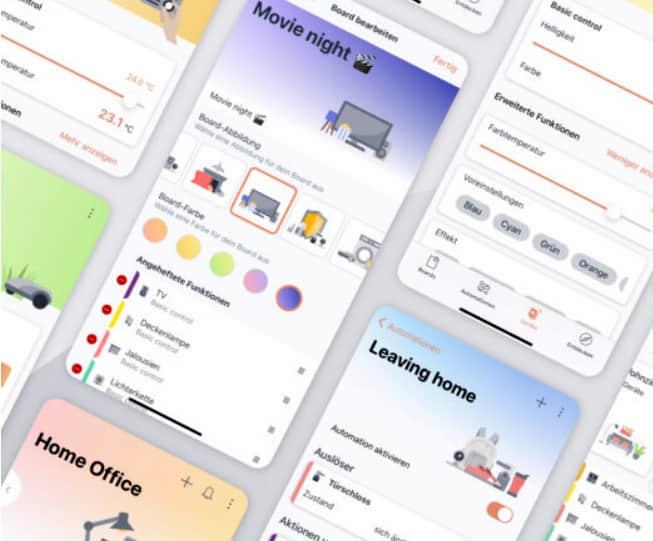 Die Bosch App Home Connect Plus steuert Geräte unterschiedlicher Hersteller.