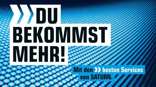 Neuer Markenauftritt: Saturn stellt das zukunftsorientierte Technikerlebnis der urbanen und markenbewussten Zielgruppe in den Mittelpunkt.