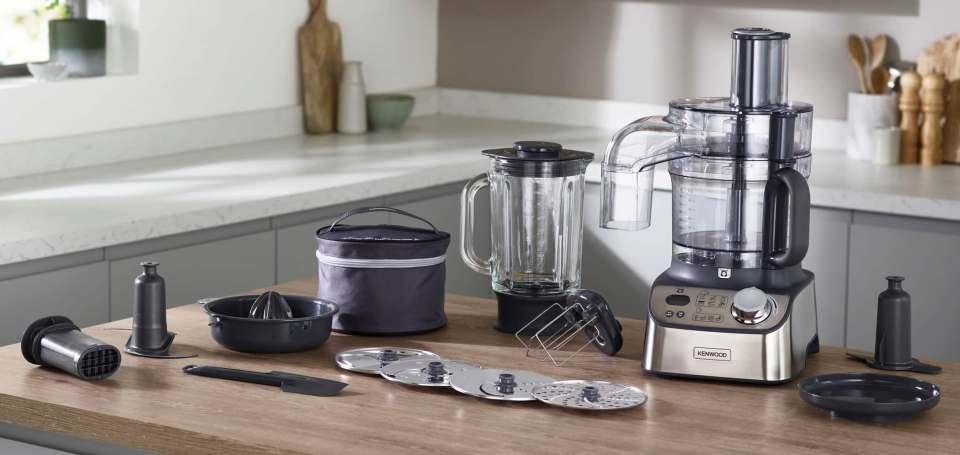 Für Koch- wie Backfans: Kenwood Küchenmaschine MultiPro Express Weigh+.