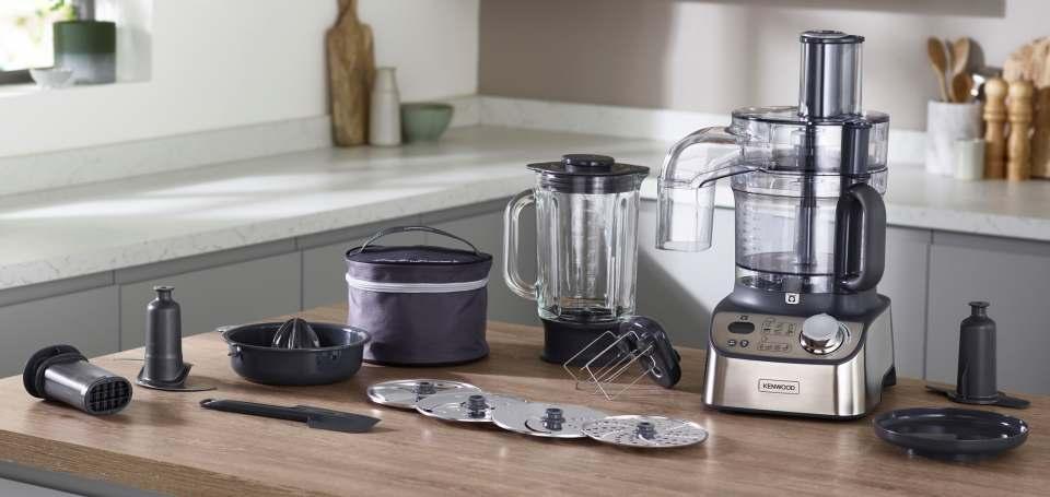 Kenwood Küchenmaschine MultiPro Express Weigh+ mit integrierter Waage.