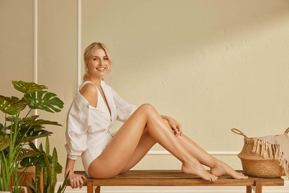 Bereit für den Sommer: Lena Gercke gibt Tipps für glatte Beine, Braun spendiert eine Cashback-Aktion