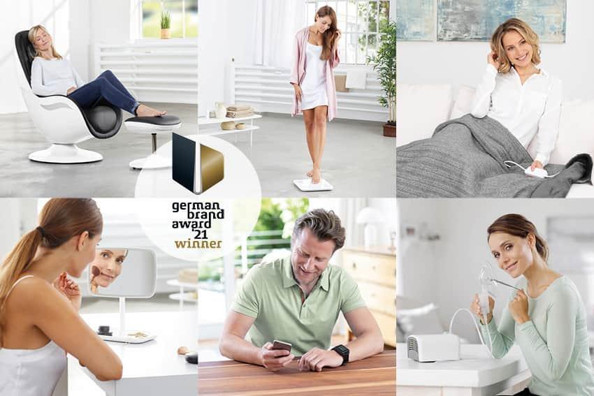 """Medisana ist Gewinner des German Brand Award in der Kategorie """"Excellent Brands / Health & Pharmaceuticals""""."""