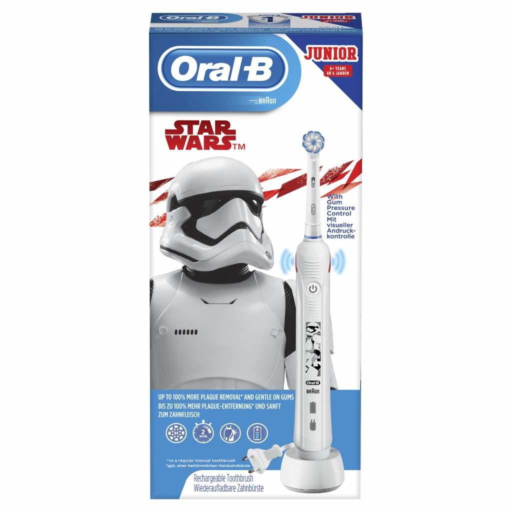 Oral-B Junior Star Wars mit visueller Andruckkontrolle