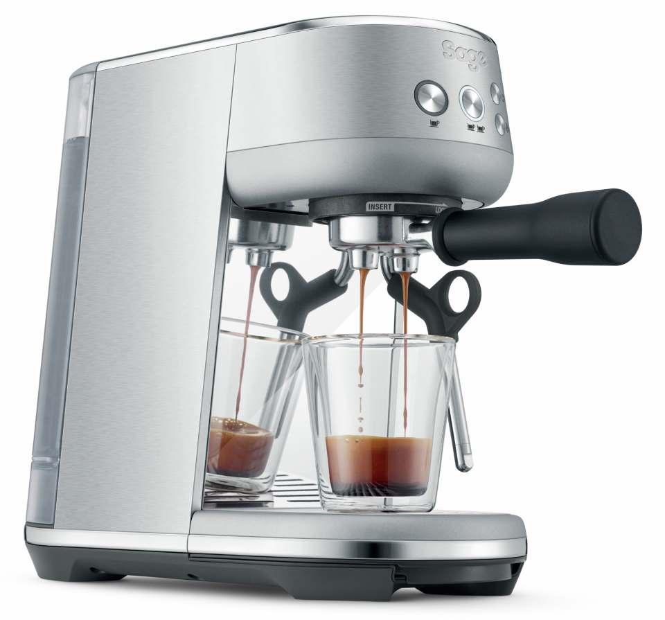 Sage Kaffeemaschine The Bambino mit 54-mm-Siebträger.