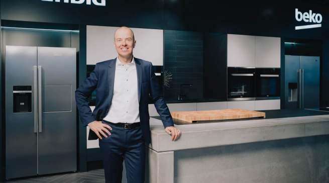 Mario Vogl, Vorsitzender der Geschäftsführung Beko Grundig Deutschland, freut sich auf den direkten Austausch mit dem Handel.