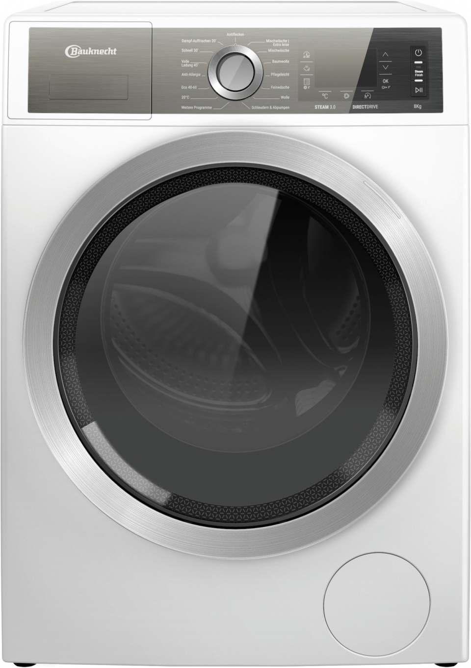 Bauknecht Waschmaschine GentlePower B6 W845WB DE mit GentlePower-