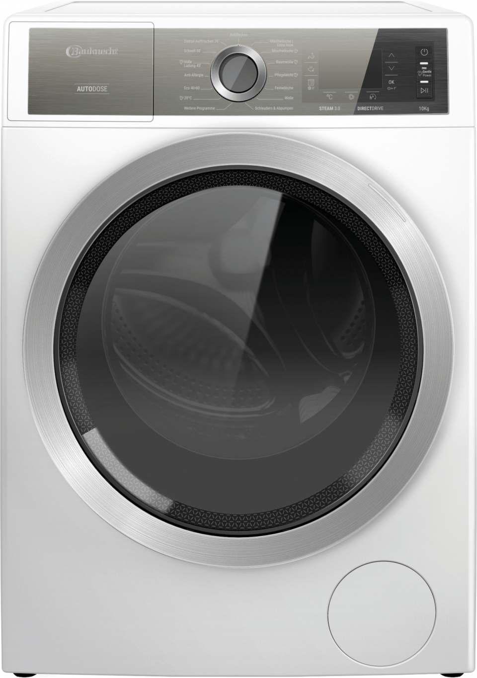 Bauknecht Waschmaschine GentlePower B8 W046WB DE mit GentlePower.
