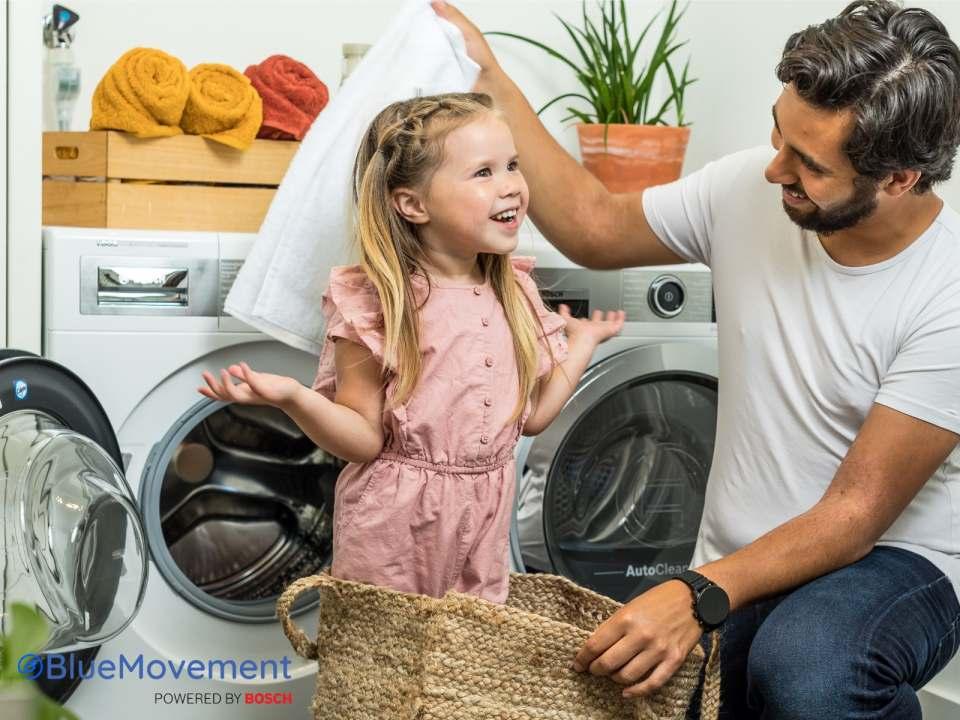 """Nutzen statt besitzen! Das Start-up """"BlueMovement powered by Bosch"""" hat auch in Deutschland ein Hausgeräte-Abo für ein nachhaltigeres Zuhause initiiert."""