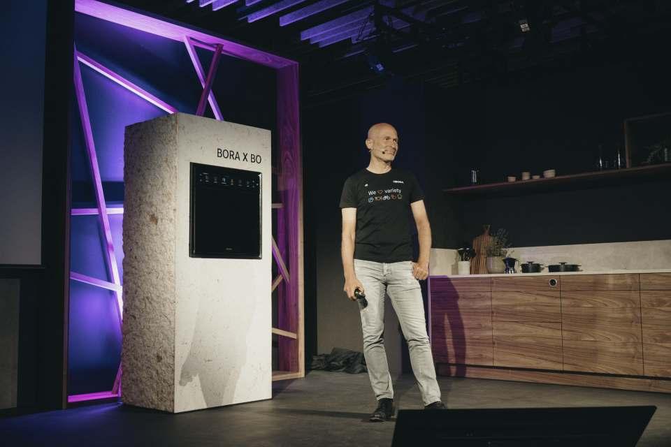 Bora Inspiration Days mit Firmengründer Willi Bruckbauer.