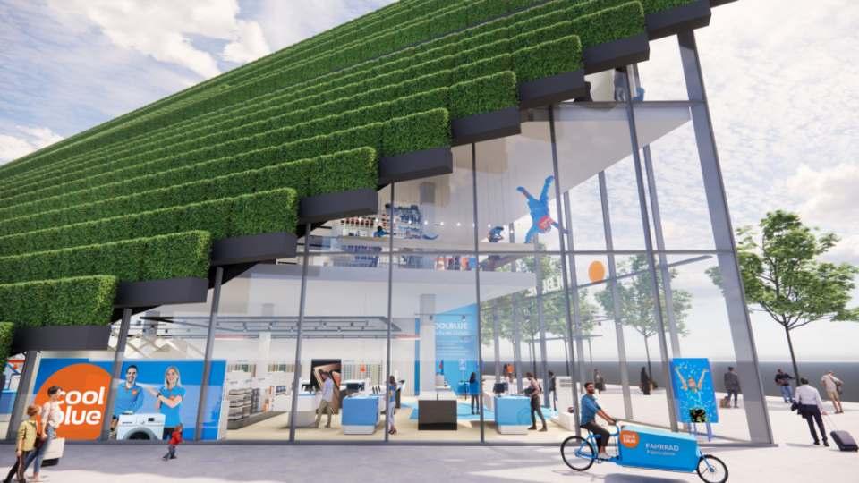 Der Online-Händler Coolblue eröffnet seinen ersten Store in Deutschland im Düsseldorfer Kö-Bogen II.