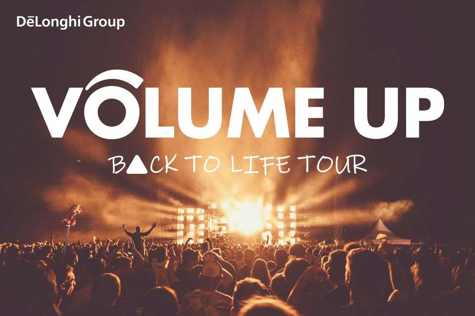 De'Longhi Volume up Back to life tour