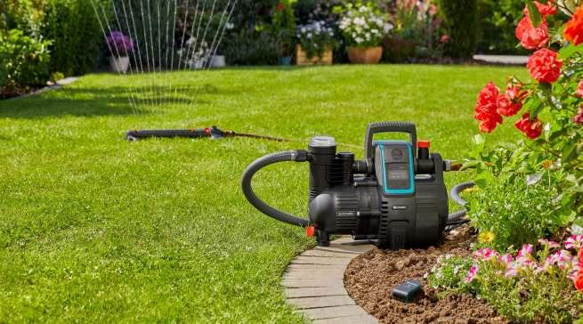 Gardena sorgt für ein intelligentes Wasser-Management im Garten.