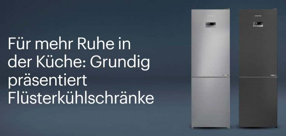 Mit Flüsterkühlschränken von Grundig soll es in der Küche leiser werden.