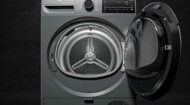 Die EcoTub-Waschmaschine von Beko besteht aus recycelten Materialien. Fotos: Beko Grundig