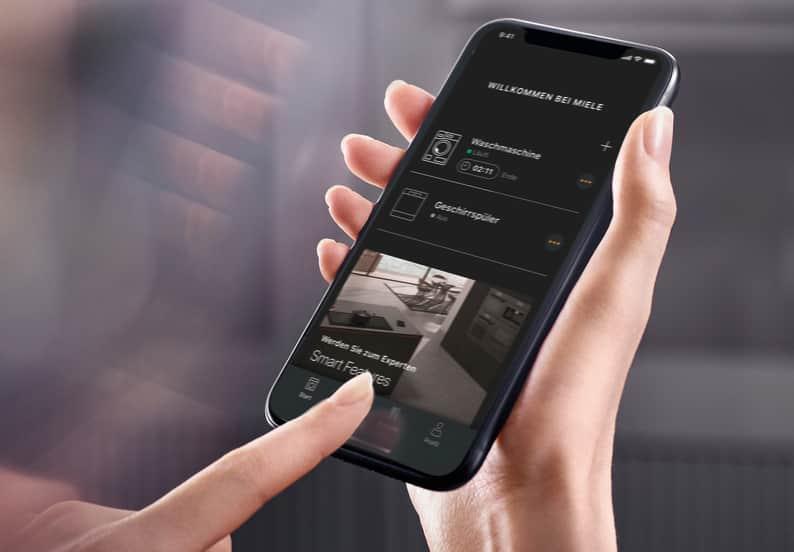 Die neue Miele-App steuert 26 Produktgruppen.