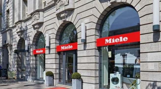 "Top-Adresse in der Hauptstadt: die Miele-""Botschaft"" Unter den Linden."