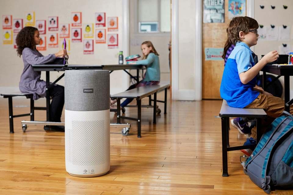Luftreiniger von Philips sorgen in Bremer Schulen und Amtsstuben für bessere Luftqualität.