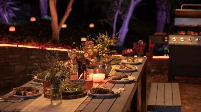 Die Philips Hue-Leuchten sind via App steuerbar. Foto: Philips Hue