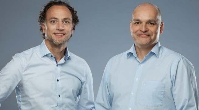 Marketing Director René Némorin (l.) und Commercial Director Janosch Brengel erläuterten die strategische Ausrichtung für die zweite Jahreshälfte.