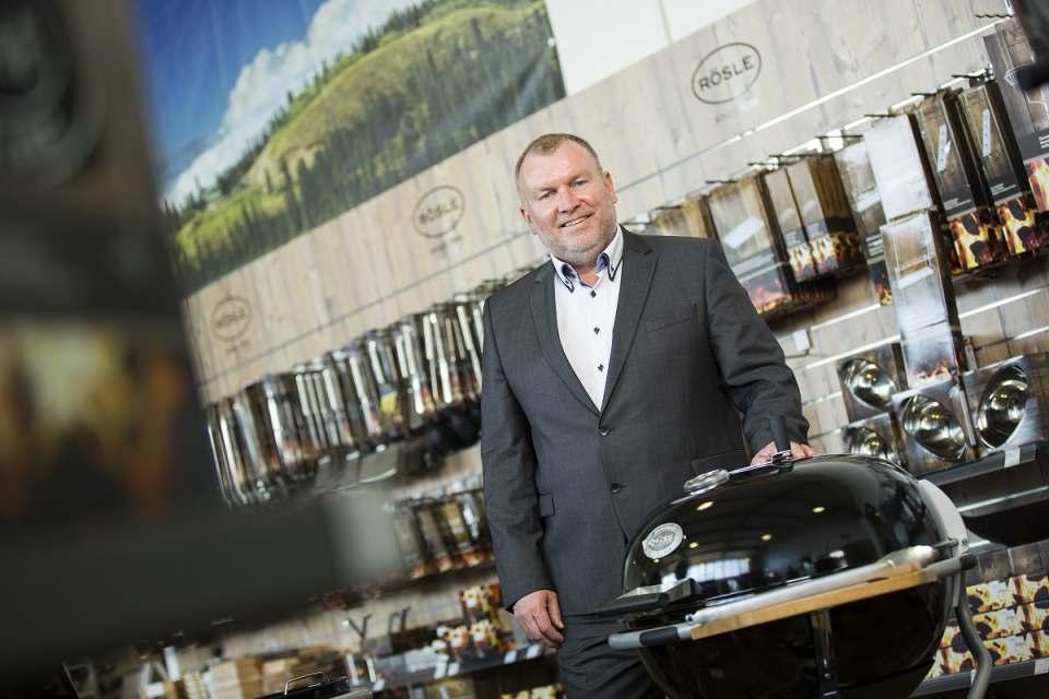Detlef Schultze ist bei Rösle verantwortlich für den BBQ-Vertrieb.