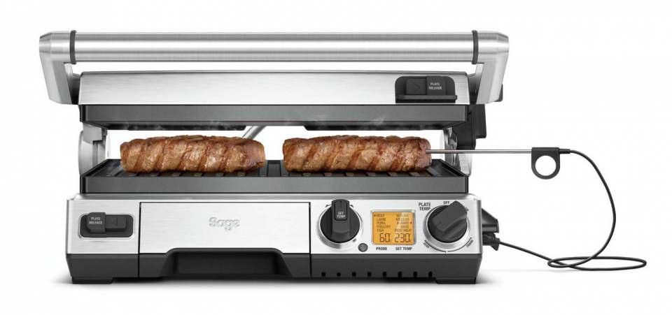 Top-Modell für Steaks, Fisch oder Spiegelei: Smart Grill Pro von Sage. Fotos: Sage