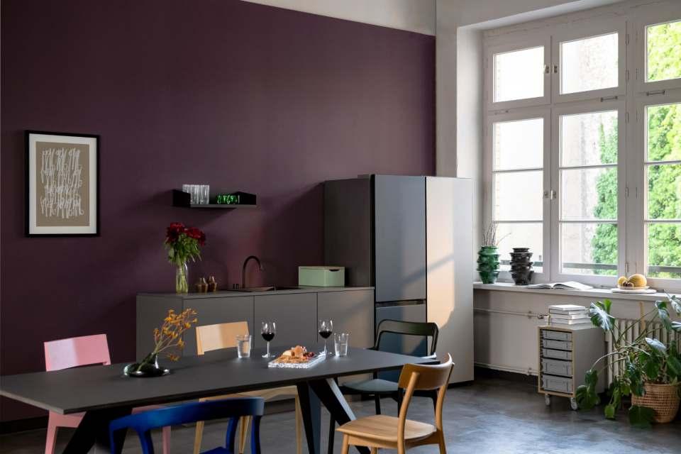 Samsung Bespoke-Serie: Kühlschrank als elegantes Stilelement