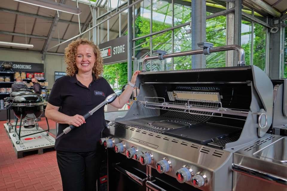 Andrea Strein ist seit einem Jahr als Vice President Hub Central beim amerikanischen Grill-Hersteller Weber für die DACH-Region verantwortlich.