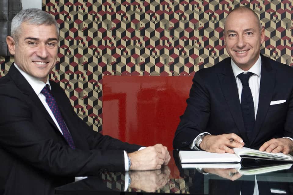 Freuen sich auf die Zusammenarbeit: Geschäftsführer Alessandro Spadola (l.) und Andrea Zappalorto (Chief Commercial Officer).