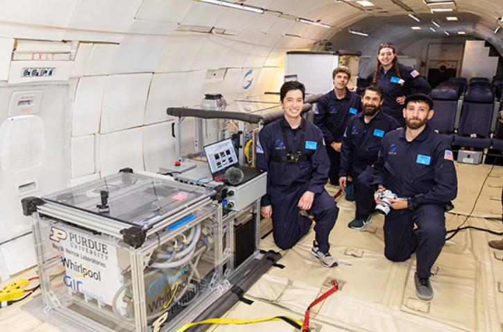 Whirlpool arbeitet am Kühlschrank für den Weltraum.