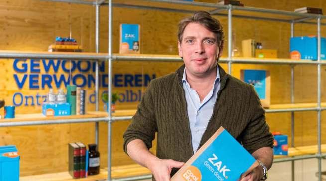 """""""Diese Filialeröffnung ist erst der Anfang: Wir planen, weitere Geschäfte zu eröffnen."""" Lastenrad"""", Pieter Zwart, CEO von Coolblue."""