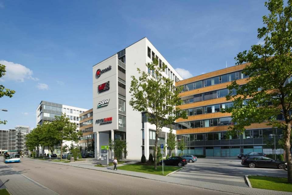 Vereint in Garching bei München: Hisense Gorenje Germany im Business Campus. (© Clemens Mayer Fotodesign)