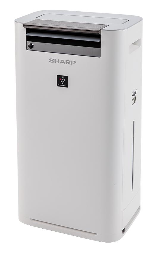 Sharp Luftreiniger KC-G 50 mit Plasmacluster-Ionen-Technologie.
