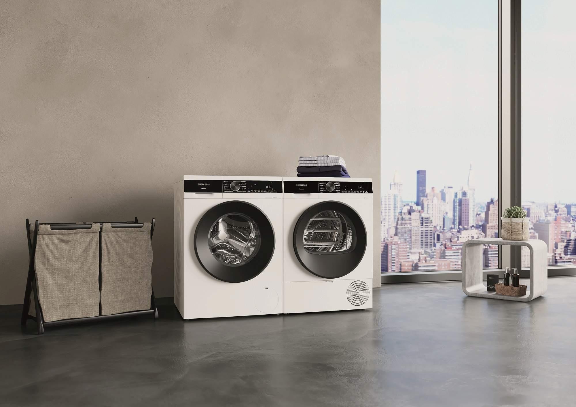 Siemens iQ500 Waschmaschine und Trockner