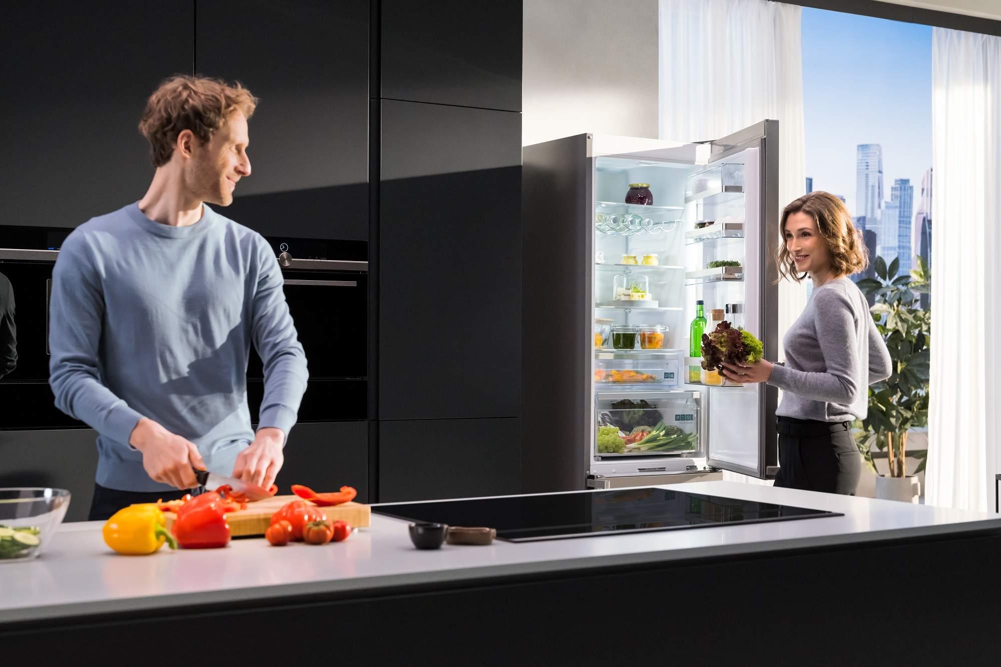 Siemens iQ500 coolFlex Kühl-Gefrier Kombination