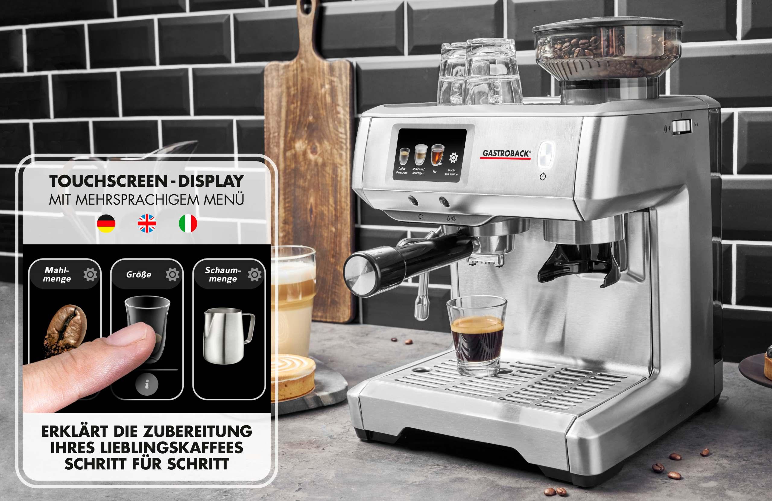 Gastroback Design Espresso Barista Touch Produktblatt