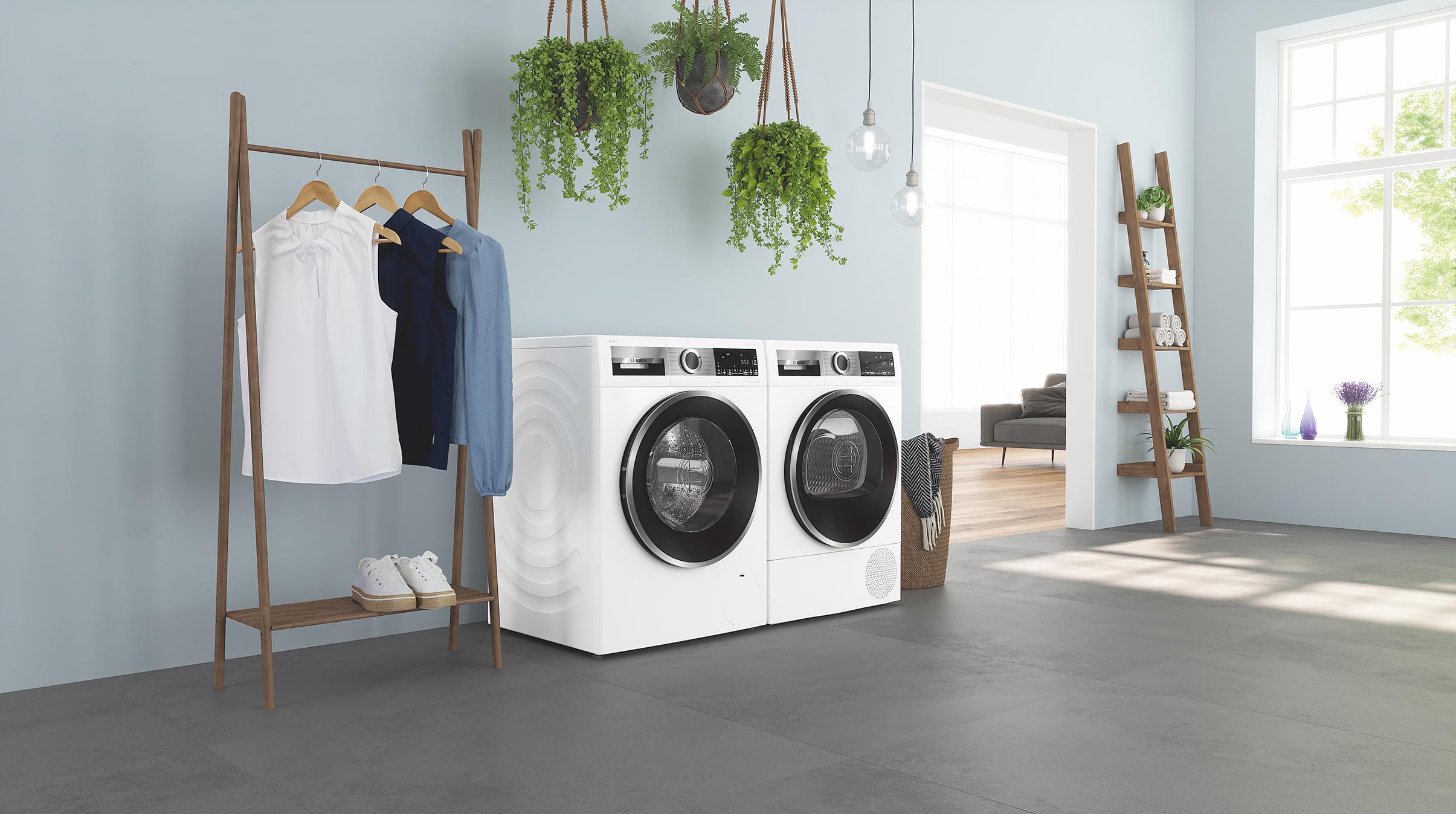 Bosch Serie 6 Waschmaschine und Trockner