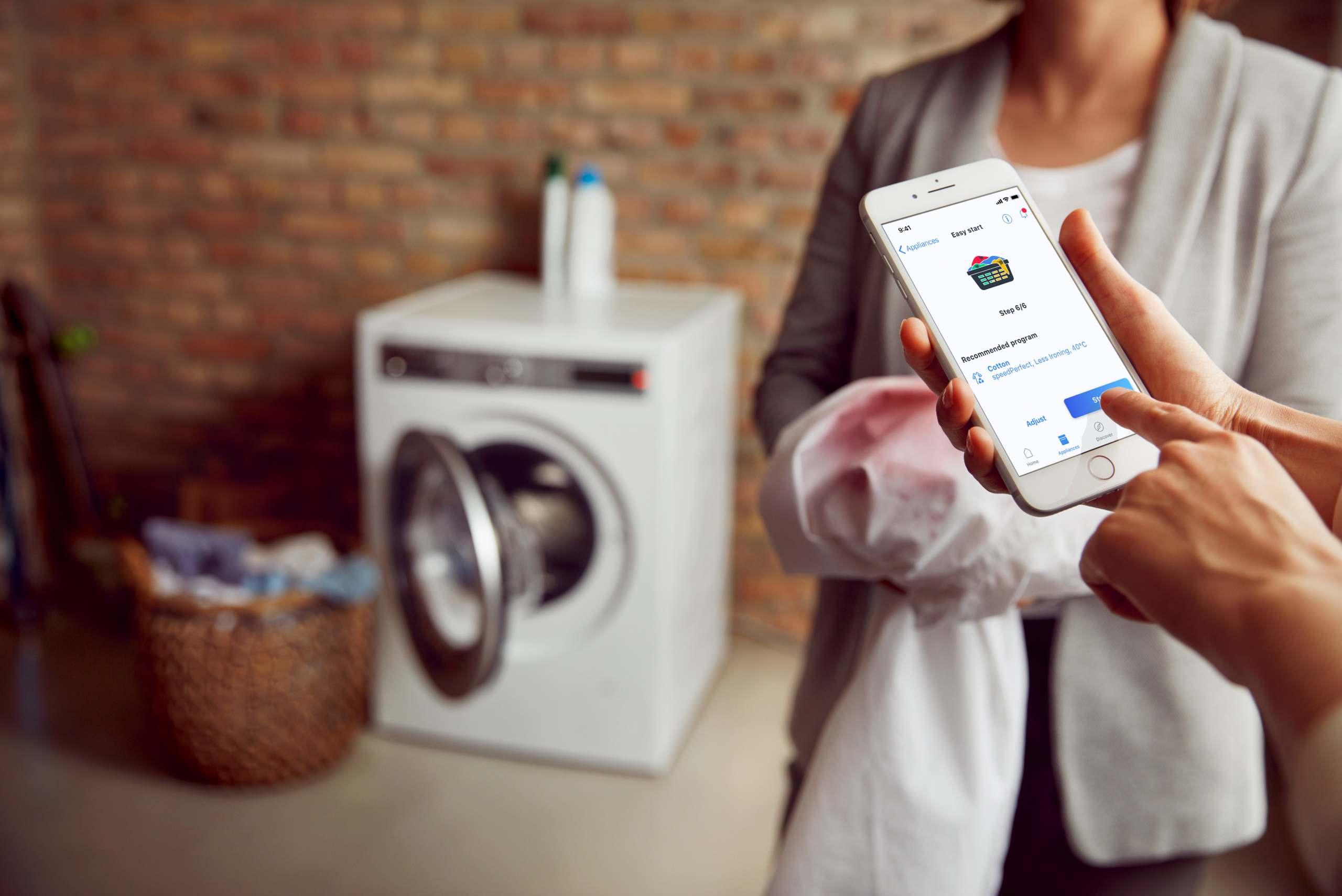 Top-Thema für die BSH-Marken ist die Digitalisierung in Küche und Waschküche.