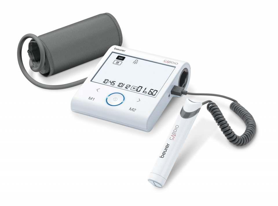 Beurer Blutdruckmessgerät BM 96 Cardio mit EKG-Funktion.