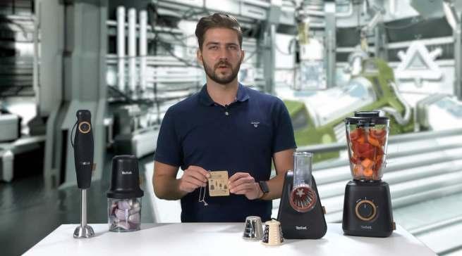 """""""Trifft den Zahn der Zeit"""": Daniel Stegmeyer, Product Manager Food Preparation, erläuterter das Konzept hinter neuen """"ECOrespect""""-Range."""
