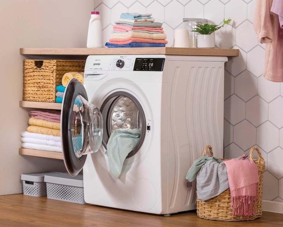 Gorenje Waschmaschine Essential WEI 84S CDPS mit ExtraHygiene-Programm.