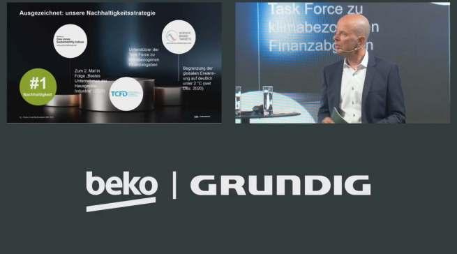Mario Vogl, Vorsitzender der Geschäftsführung von Beko Grundig Deutschland, hatte (nicht nur) auf Gut Böckel das Thema Nachhaltigkeit im Fokus.
