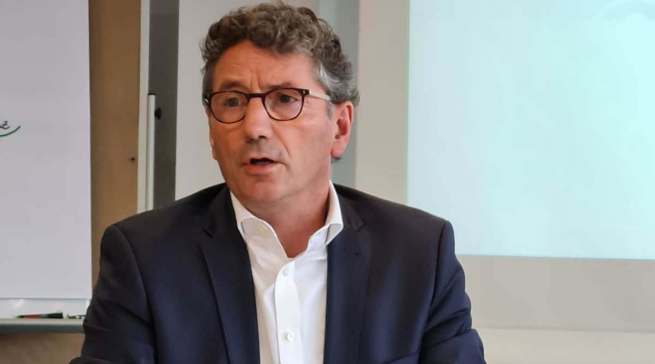 """""""Wir bereichern das Leben der Menschen, in dem wir den lokalen Einzelhandel unterstützen und inspirieren"""", EK Vorstandsvorsitzender Franz-Josef Hasebrink."""
