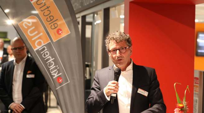Eröffnete einen kurzweiligen, informativen Branchenabend: EK-Vorstandsvorsitzender Franz-Josef Hasebrink.