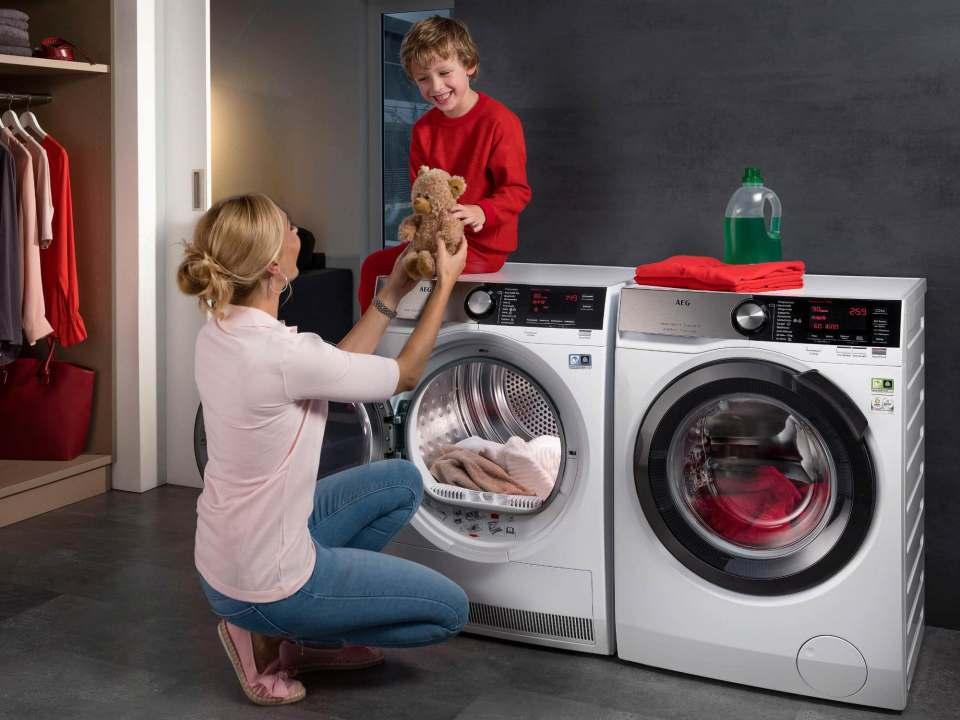 Qualität lohnt sich – auch bei der Reparatur, so die Initiative Hausgeräte+ (Bildquelle: AEG).