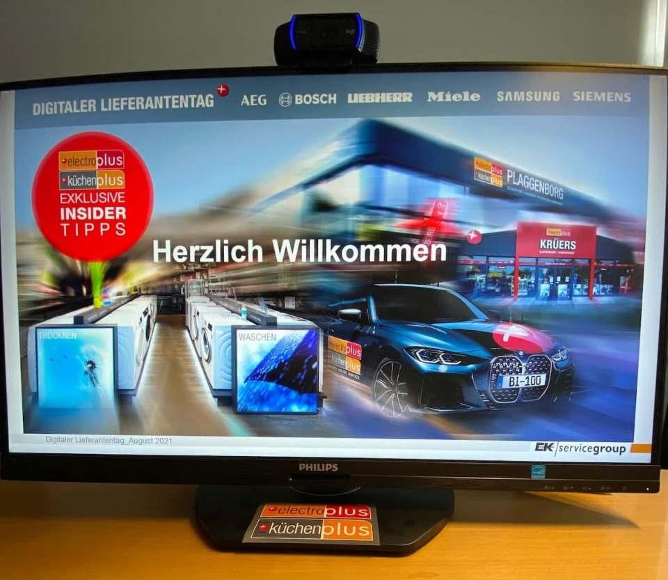 """Erfolgreiche Premiere: """"Digitale Lieferantentage"""" bei der EK/servicegroup."""